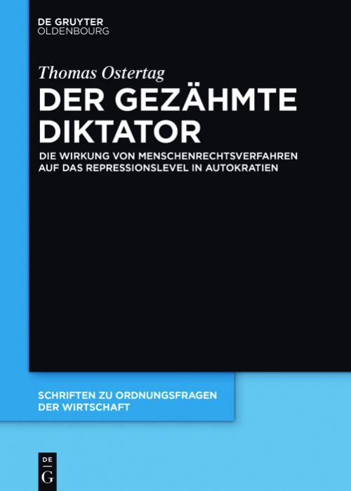 Der gezähmte Diktator cover