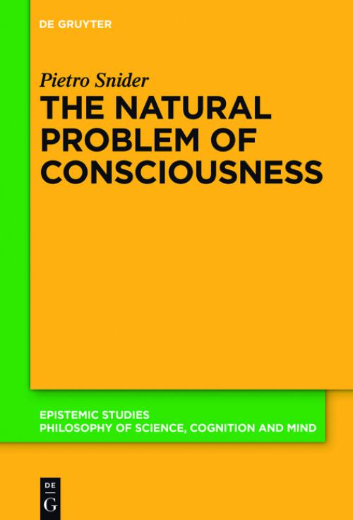 The Natural Problem of Consciousness cover
