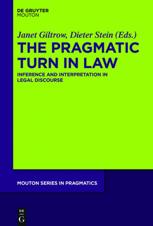 The Pragmatic Turn in Law cover