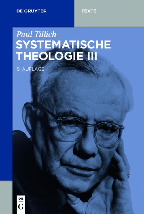 Systematische Theologie III cover