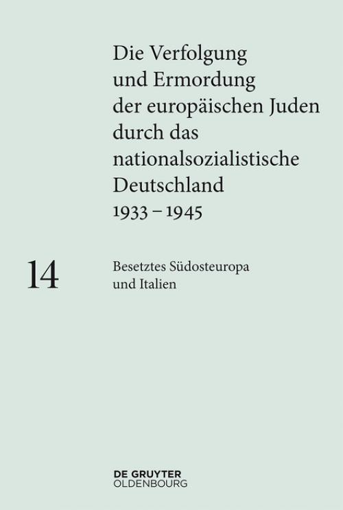 Besetztes Südosteuropa und Italien cover