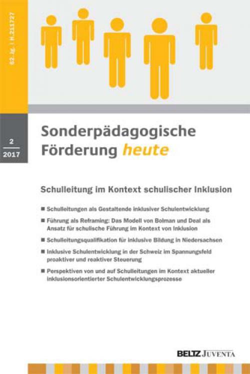 Inklusive Schulentwicklung in der Schweiz im Spannungsfeld proaktiver und reaktiver Steuerung cover
