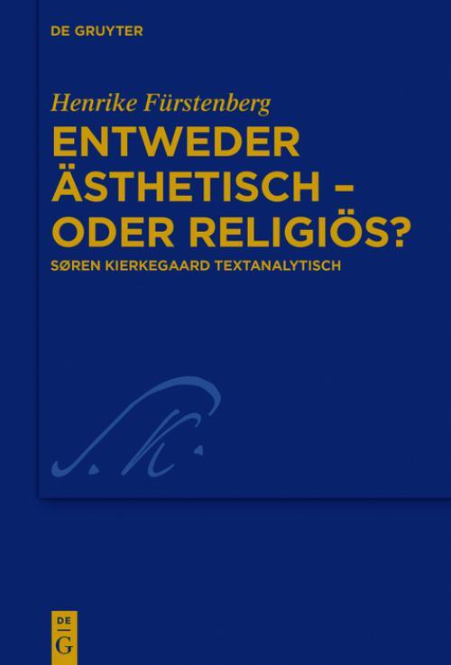 Entweder ästhetisch – oder religiös? cover