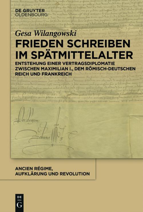 Frieden schreiben im Spätmittelalter cover