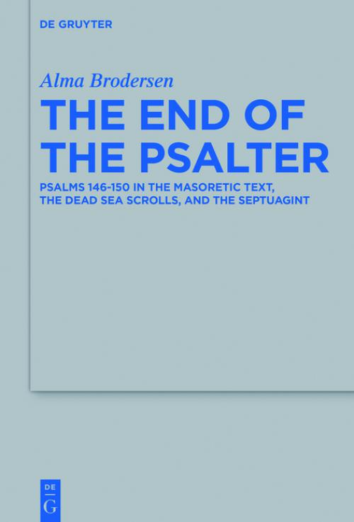 The End of the Psalter cover