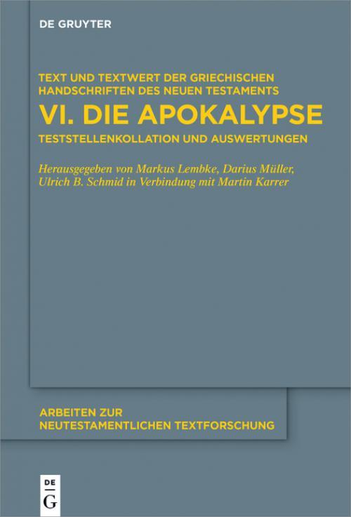 Die Apokalypse cover