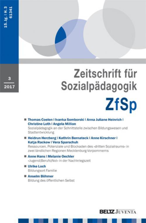 Sozialpädagogik an der Schnittstelle zwischen Bildungswesen und Stadtentwicklung cover