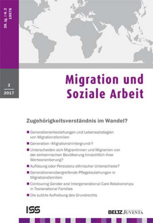 Generationenübergreifende Pflegebeziehungen in Migrationsfamilien - Konstruktionen und Verhältnisse cover