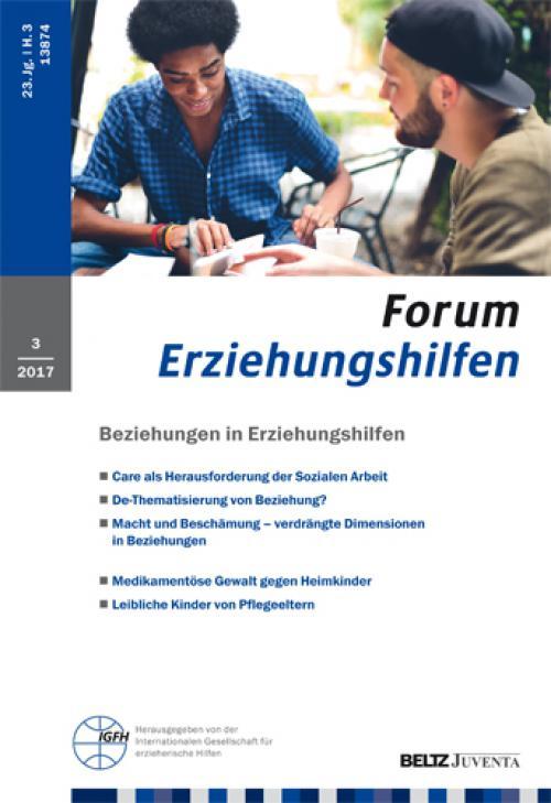 IGfH/ISS-Forschungskolloquium Erziehungshilfen am 03./04. März 2017 cover