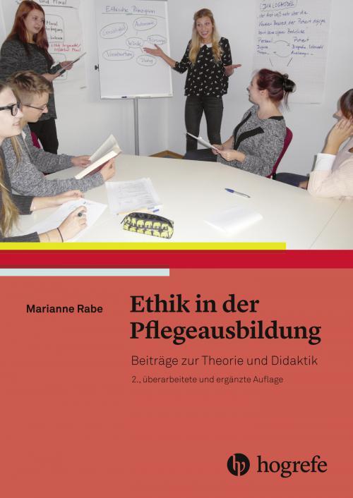 Ethik in der Pflegeausbildung cover