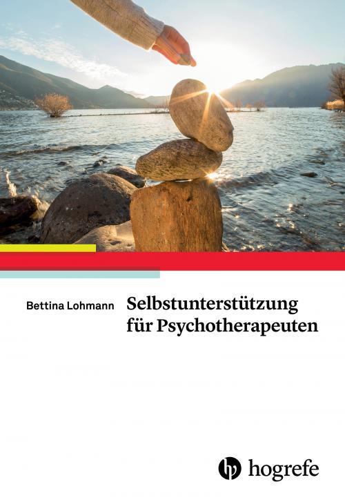 Selbstunterstützung für Psychotherapeuten cover