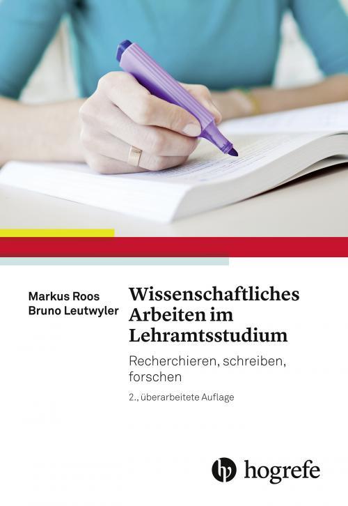 Wissenschaftliches Arbeiten im Lehramtsstudium cover