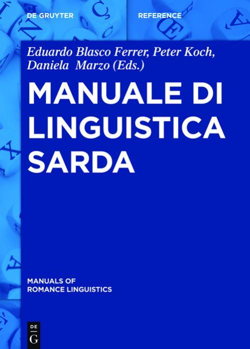 Manuale di linguistica sarda cover