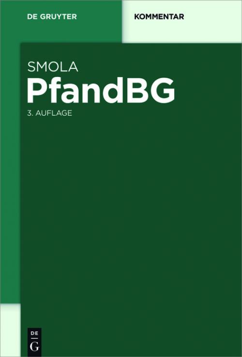 PfandBG cover