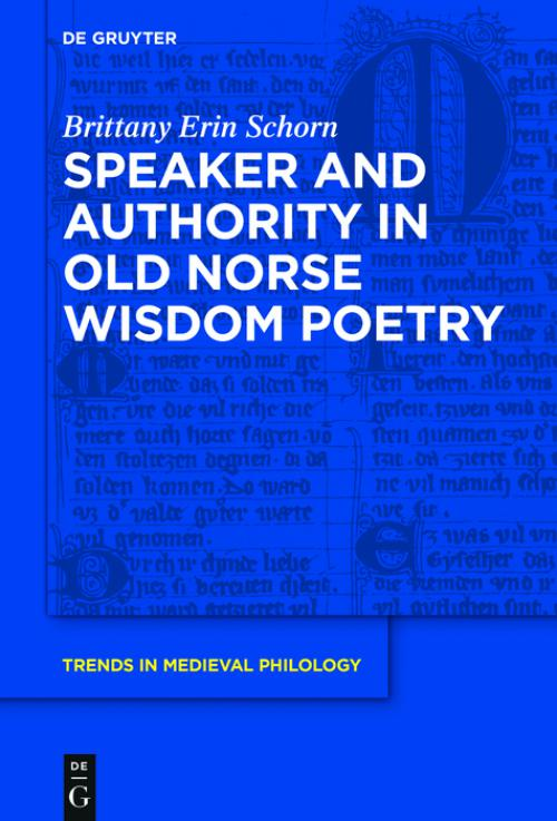 Speaker and Authority in Old Norse Wisdom Poetry cover