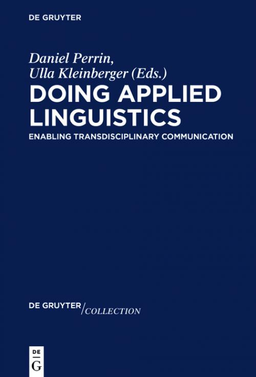 Doing Applied Linguistics cover