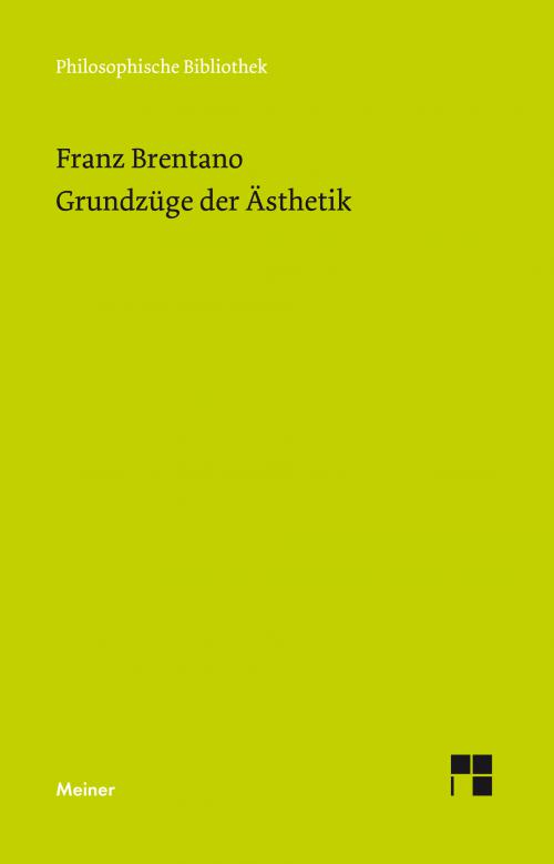 Grundzüge der Ästhetik cover