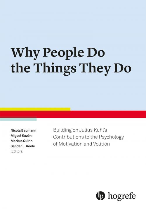 Why People Do the Things They Do cover