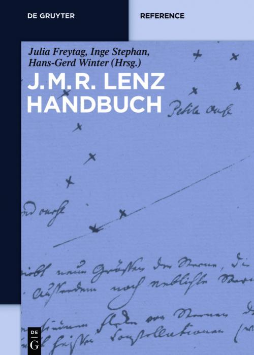 J.M.R.-Lenz-Handbuch cover