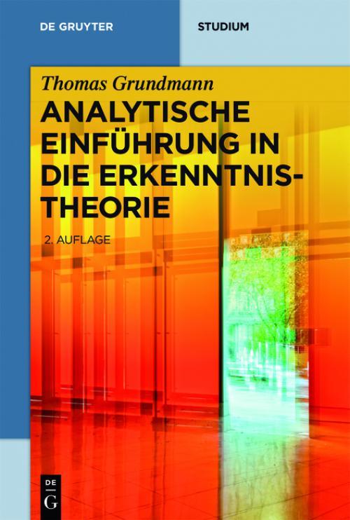 Analytische Einführung in die Erkenntnistheorie cover