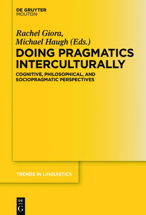 Applications of Intercultural Pragmatics cover