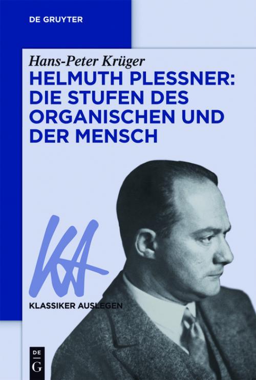 Helmuth Plessner: Die Stufen des Organischen und der Mensch cover