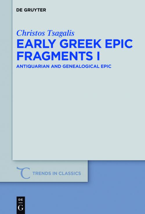 Early Greek Epic Fragments I cover