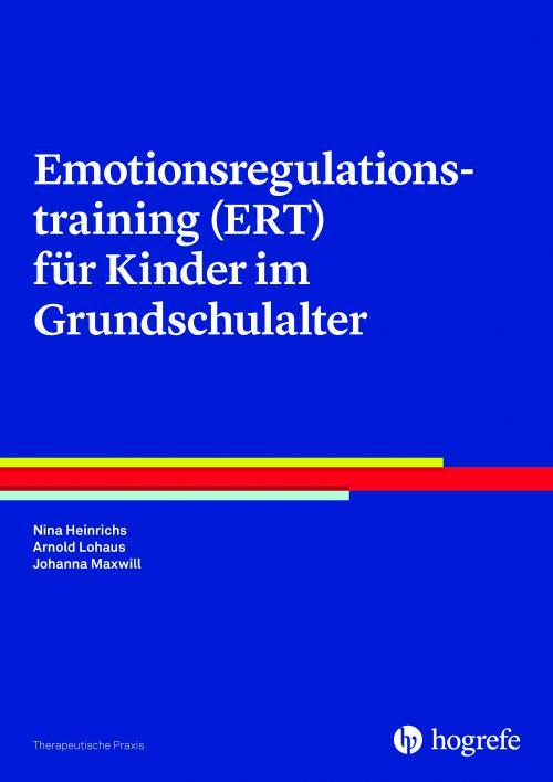 Emotionsregulationstraining (ERT) für Kinder im Grundschulalter cover