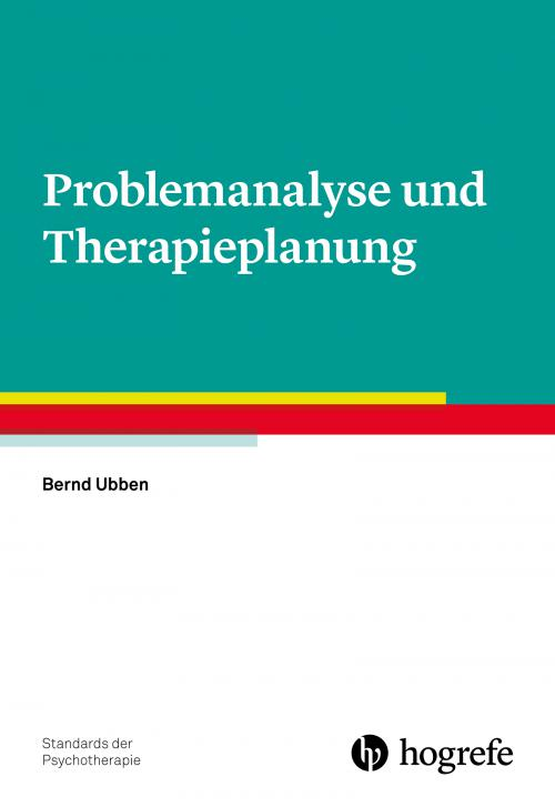 Problemanalyse und Therapieplanung cover