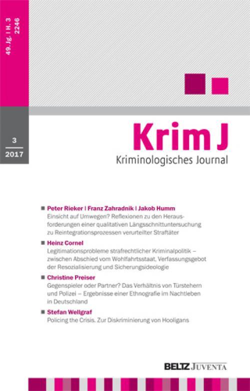 Karl-Ludwig Kunz, Tobias Singelnstein: Kriminologie. Eine Grundlegung (Stephan Quensel) cover