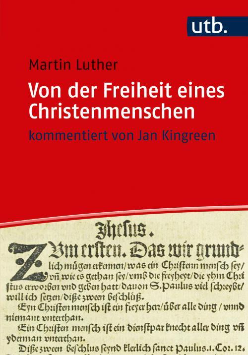 Von der Freiheit eines Christenmenschen cover