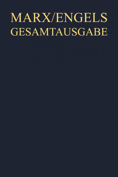 Werke, Artikel, Entwürfe Februar bis Oktober 1848 cover