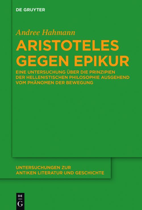 Aristoteles gegen Epikur cover