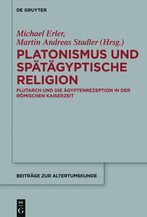 Platonismus und spätägyptische Religion cover