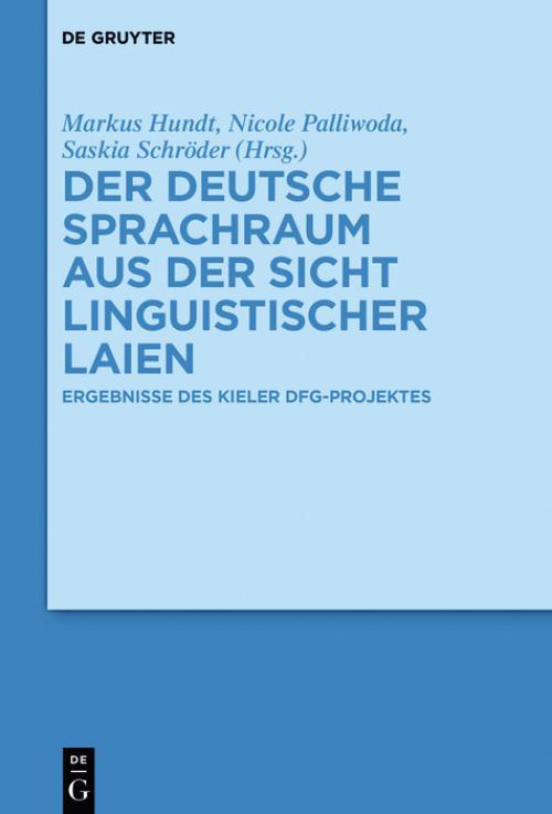 Der deutsche Sprachraum aus der Sicht linguistischer Laien cover