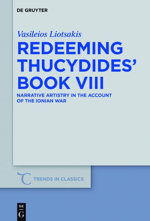 Redeeming Thucydides' Book VIII cover