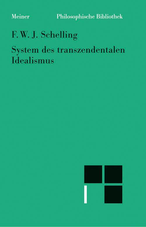 System des transzendentalen Idealismus cover