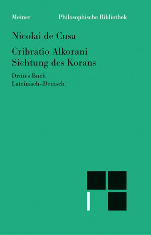 Schriften in deutscher Übersetzung / Sichtung des Korans III cover