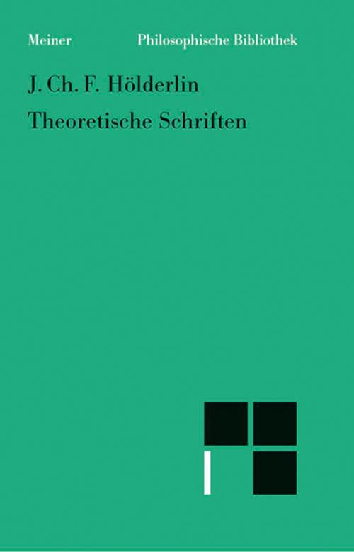 Theoretische Schriften cover