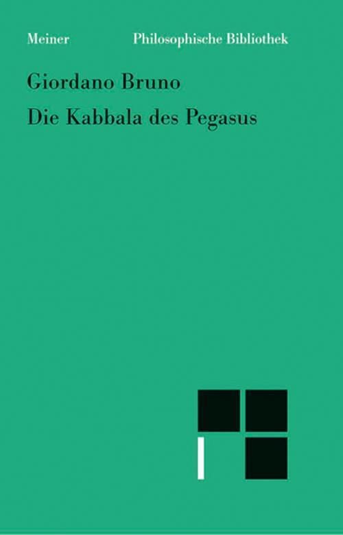 Die Kabbala des Pegasus cover