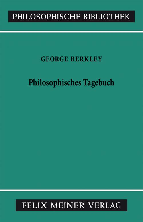 Philosophisches Tagebuch cover