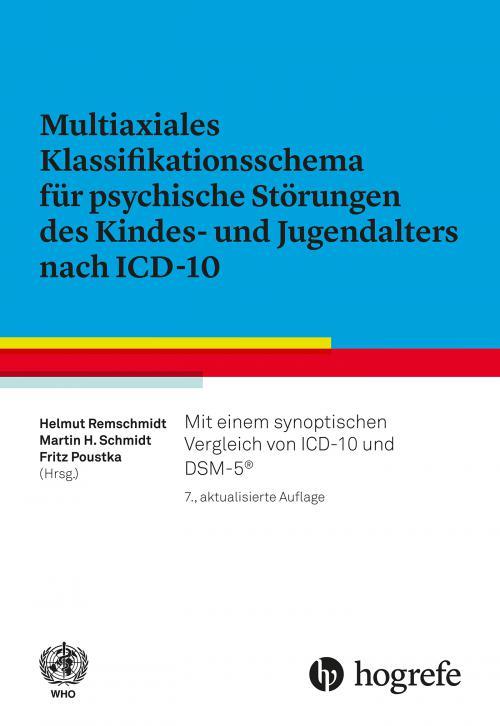 Multiaxiales Klassifikationsschema für psychische Störungen des Kindes– und Jugendalters nach ICD–10 cover