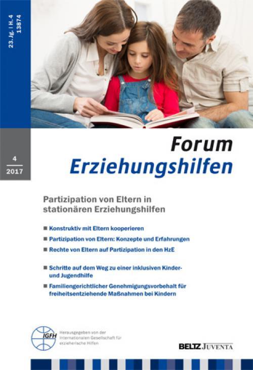 Einführung eines familiengerichtlichen Genehmigungsvorbehalts für freiheitsentziehende Maßnahmen bei Kindern und Jugendlichen cover