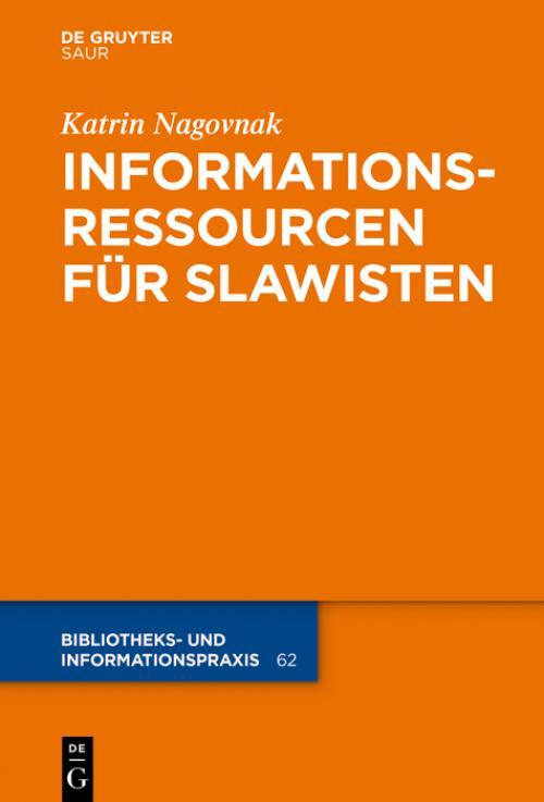 Informationsressourcen für Slawisten cover