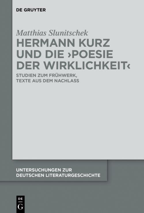 Hermann Kurz und die 'Poesie der Wirklichkeit' cover