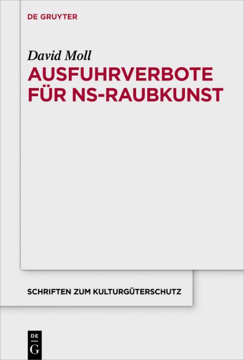 Ausfuhrverbote für NS-Raubkunst cover