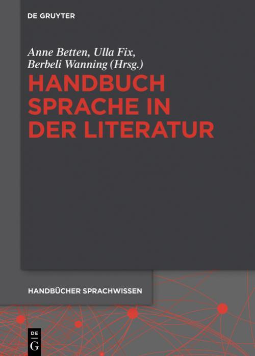 Handbuch Sprache in der Literatur cover