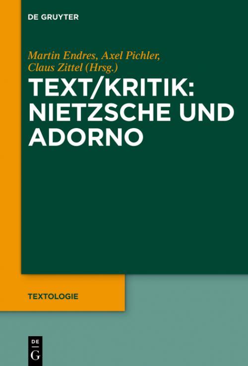 Text/Kritik: Nietzsche und Adorno cover