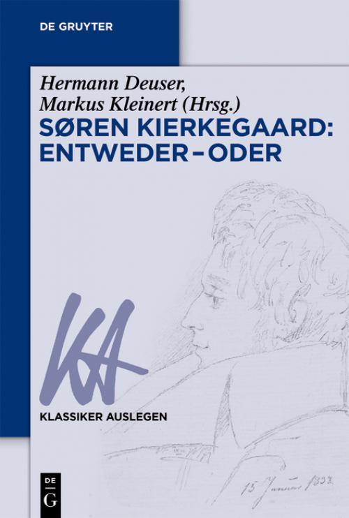 Søren Kierkegaard: Entweder – Oder cover