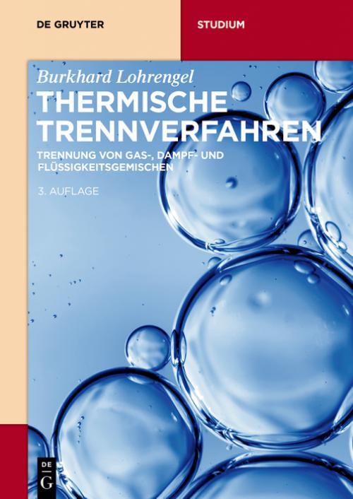 Thermische Trennverfahren cover